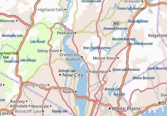 Mappe-Piantine Croton-on-Hudson