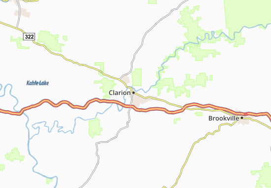 Clarion Map