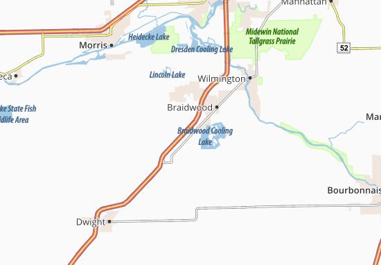 Mapas-Planos Braceville
