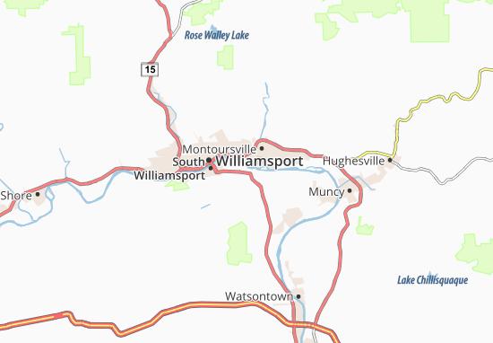 Sylvan Dell Map