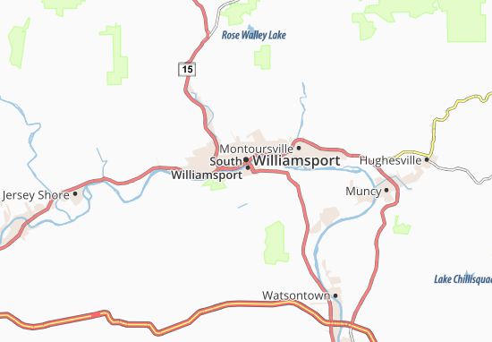 South Williamsport Map