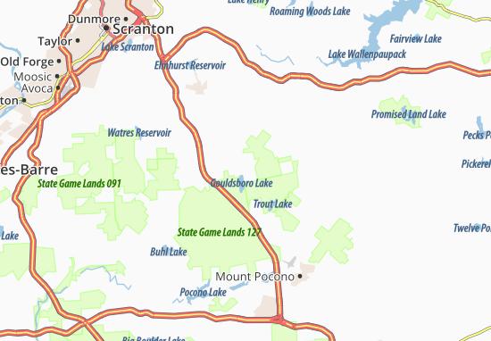 Mapas-Planos Gouldsboro