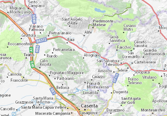 Carte-Plan Alvignano