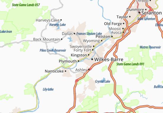 Mappe-Piantine Larksville