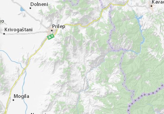 Mapa Plano Dunje