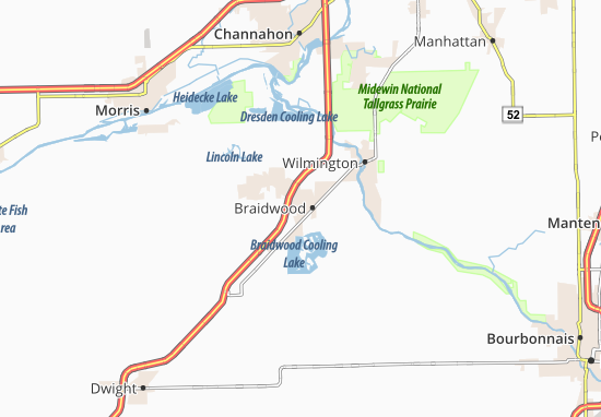 Braidwood Map