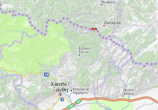 Echínos Map