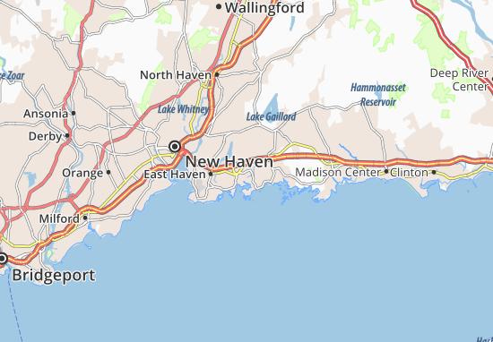 Mapa Plano Branford