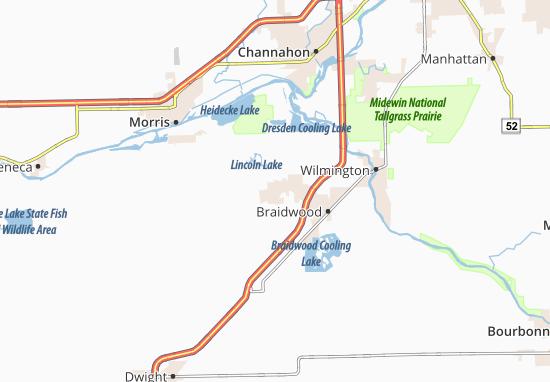 Mapas-Planos Coal City