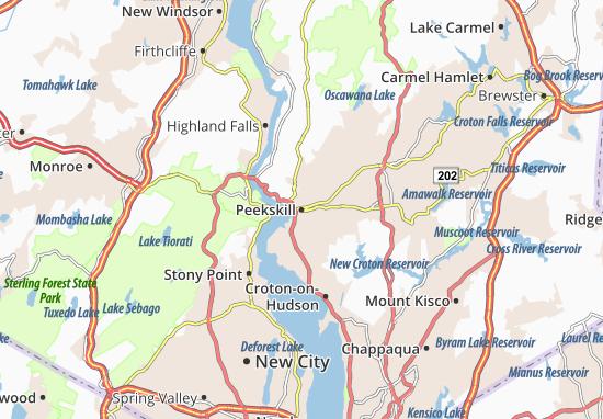 Peekskill Map