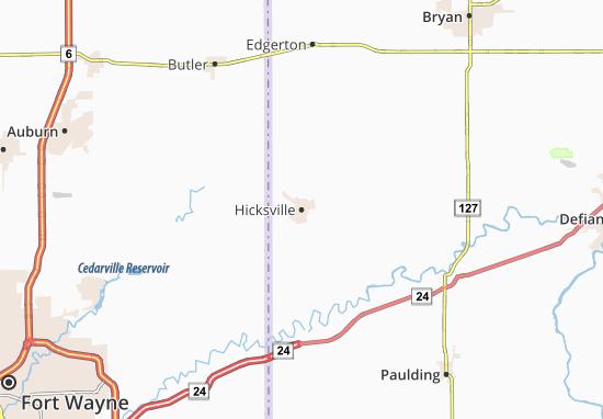 Carte-Plan Hicksville