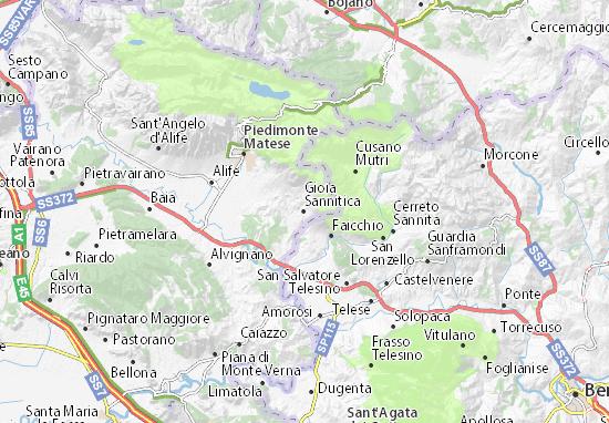 Mappe-Piantine Gioia Sannitica
