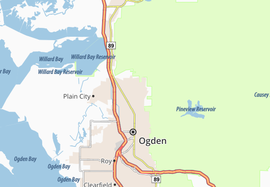 Mappe-Piantine North Ogden