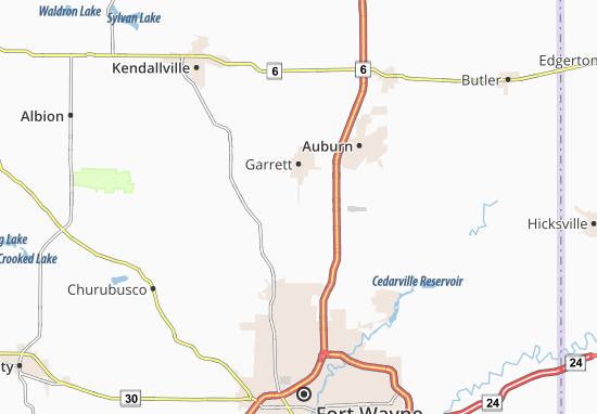 Butler Center Map