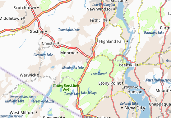 Harriman Map