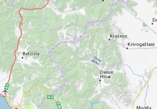 Dolenci Map