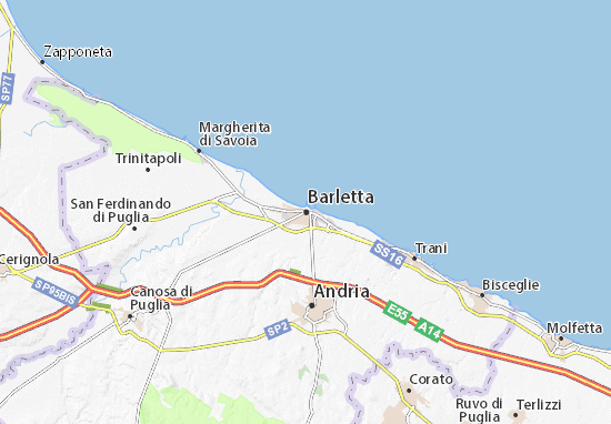 Mapa Plano Barletta