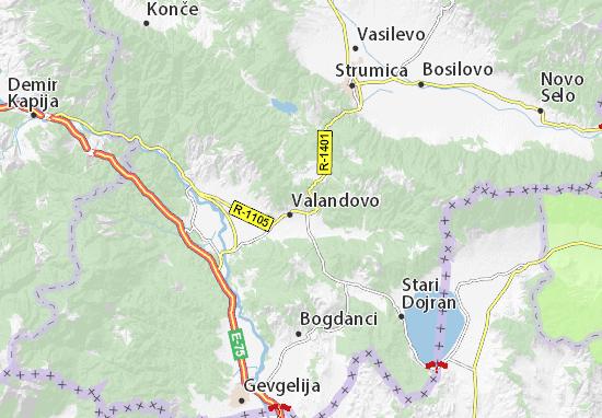 Rabrovo Map