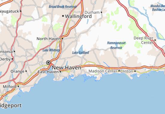 North Branford Map