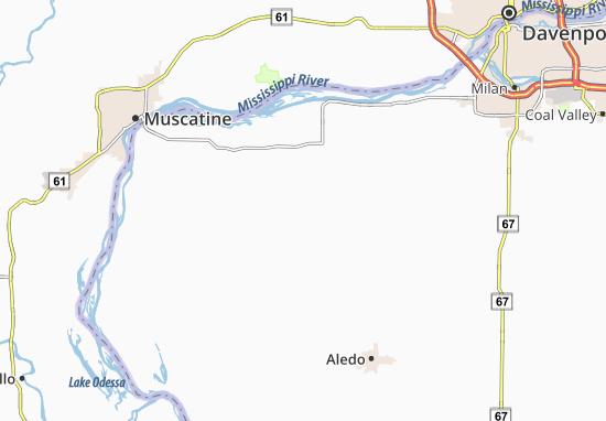 Buffalo Prairie Map