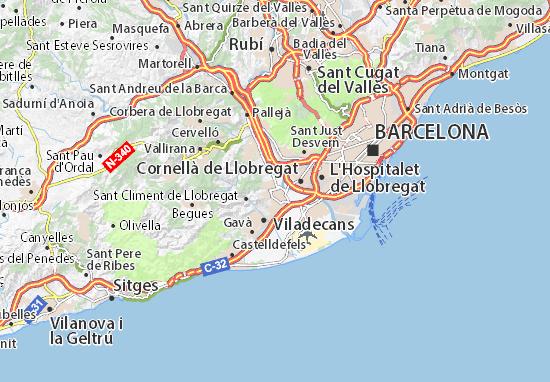 Mappe-Piantine Sant Boi