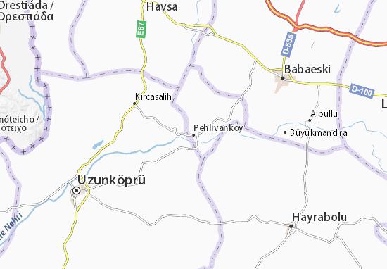 Mapas-Planos Pehlivanköy