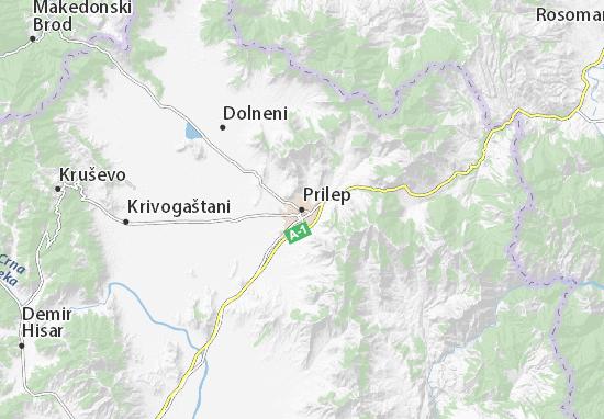 Prilep Map