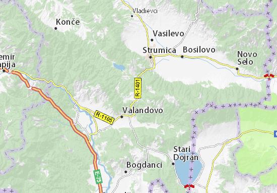 Kosturino Map