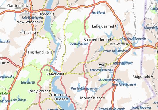 Putnam Valley Map