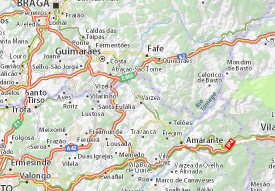 Felgueiras Map
