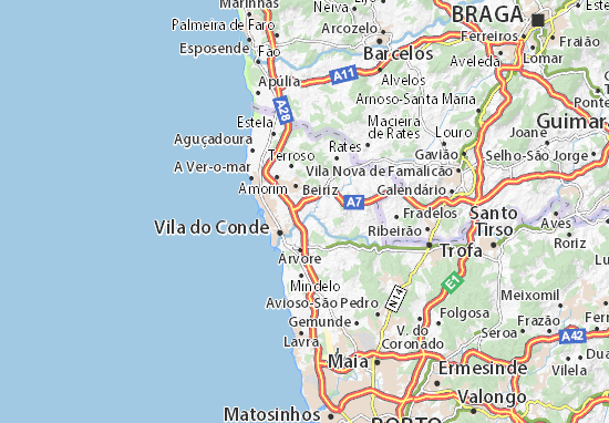 Mapas-Planos Touguinha