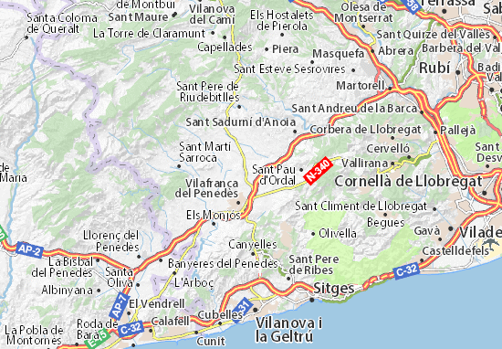 Mapas-Planos La Granada