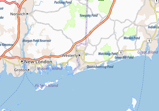 Westerly Map