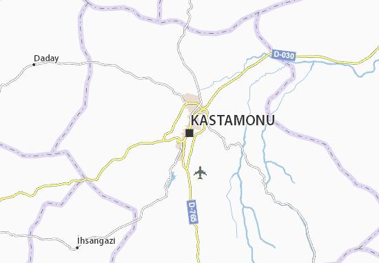 Kastamonu Map