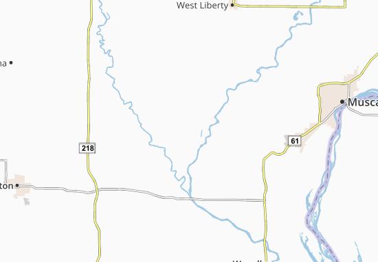 Conesville Map
