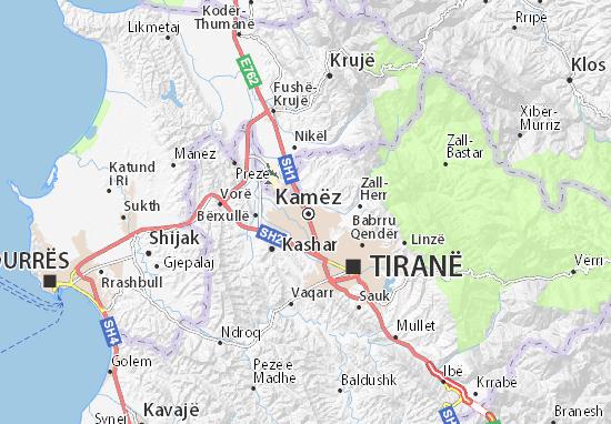 Mappe-Piantine Kamëz