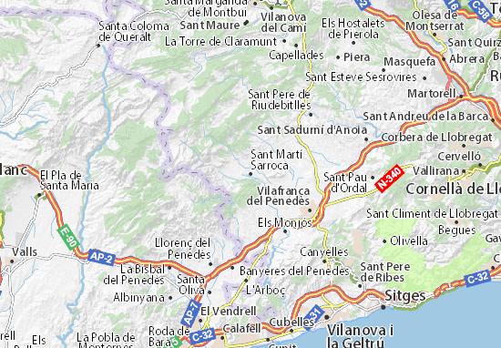 Mapas-Planos Sant Martí Sarroca