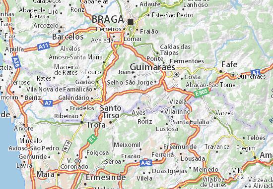 Mapas-Planos Oliveira-Santa Maria