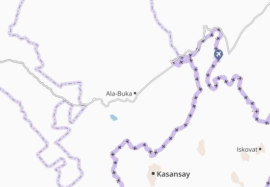 Mapa Plano Ala-Buka