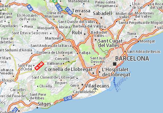 Mapa Molins De Rei.Map Of Molins De Rei Michelin Molins De Rei Map Viamichelin