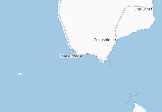 Kaart Plattegrond Matsumae