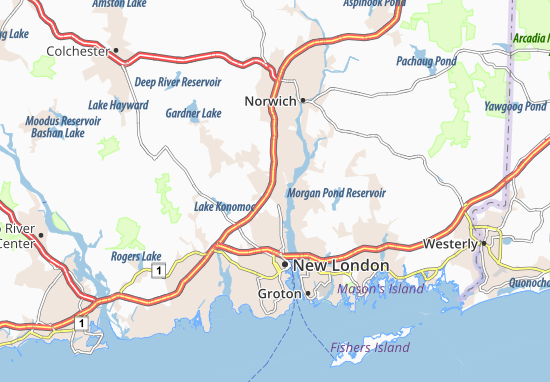 Mapas-Planos Oxoboxo River