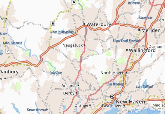 Beacon Falls Map