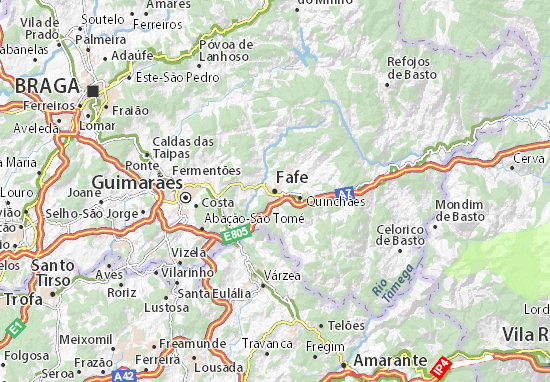 Mapa Plano Fafe