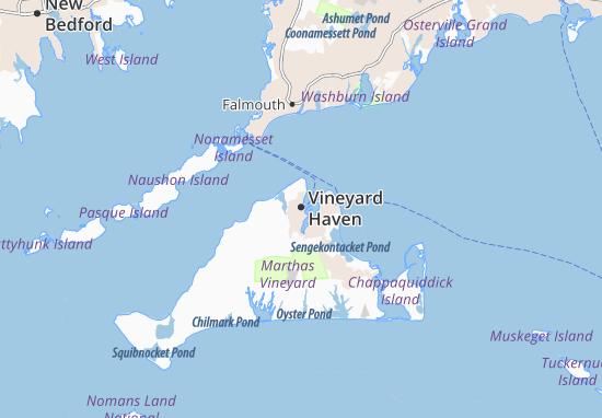 Mapas-Planos Vineyard Haven