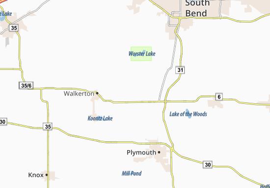 Teegarden Map