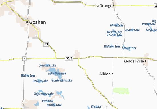 Ligonier Map