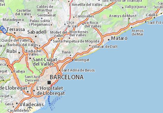 Mapa Plano El Masnou