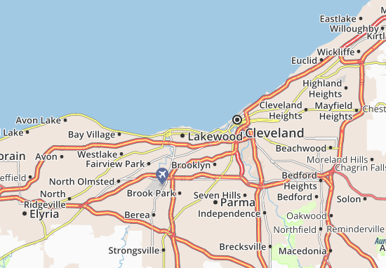 Lakewood Map
