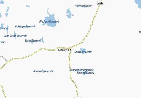 Alturas Map